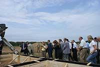 Строительство нового микрорайона малоэтажных жилых домов Кабицыно
