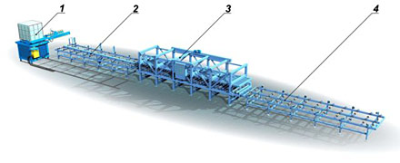 Производство сендвич-панелей