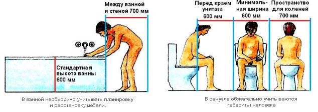 комнату или душ в месте,