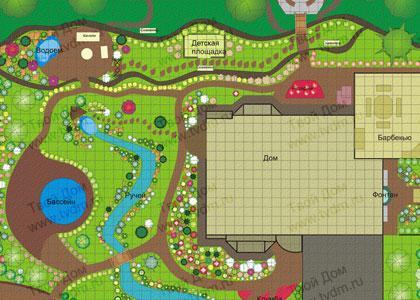 Дизайн ландшафтный дизайн