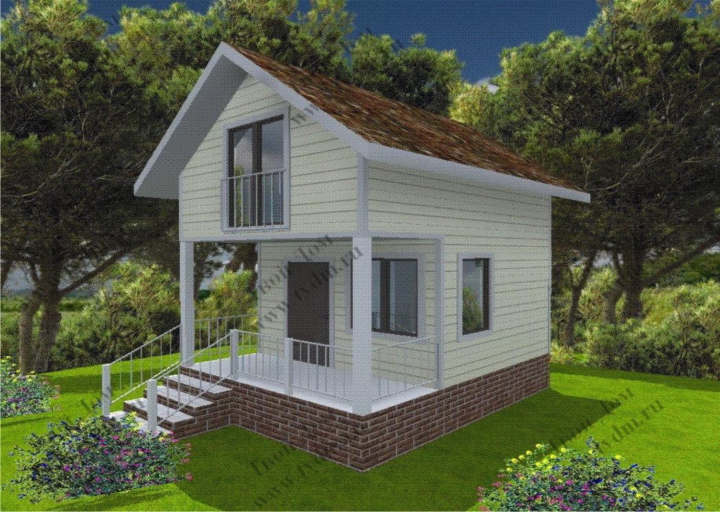 Проекты домов на недорого своими руками 465