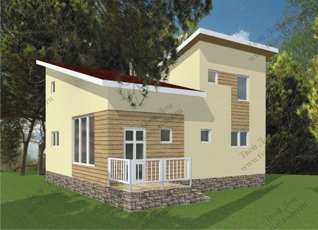 Тамань двухэтажный