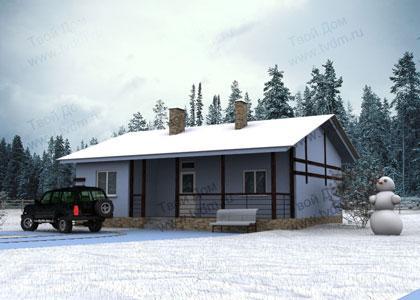 Загородный дом с тремя спальнями и